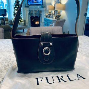 Furla Leather Shoulder Bag Purse